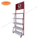 Floor Standing Metal Store Exhibition Motor Lube Lubrication Oil Wholesale Display Rack