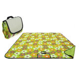 600d PVC Coating Outdoor Rug Patio/Deck Camper Beach Mat/Reversible Picnic Carpet Qh-004