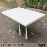 4 Seater Round Solid Surface Coffee Dining Table with Chair