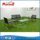 Hotel Indoor Stainless Steel Table Sets and Outdoor Restaurant Tables and Chairs with Terslin Style