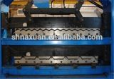 PLC Control Roof Panel Double Layer Roll Forming Machine