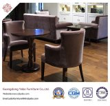 Upholsteryed Hotel Restaurant Furniture with Fabric Armchair (YB-O-89)