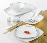Porcelain Dinner Set with Elegant Design