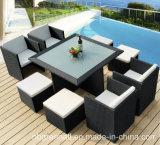 Garden Sets Patio Furniture 9PCS Cube Chair Table Rattan Furniture