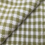 High Quality Pure Ramie Thickening Fashion Yarn Dye Chequer for Home Textile and Sofa