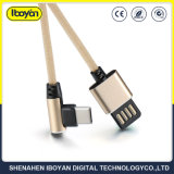 Custom 2.4A Type-C USB Data Charger Wire Connection Mobile Phone Cable