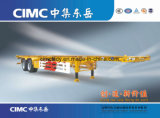 Cimc 40FT Goose Neck Skeleton Container Semi Trailer-Semi-Trailer/Container Trailer/Truck Trailer Chassis Price