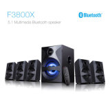 5.1 Channel Surround Sound Home Theater TV Audio with USB Bluetooth Remote Control LED Display