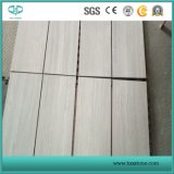 White Wooden Grain/Veins Marble for Fooring Tile/Mosaic