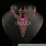 VAGULA 2015 Fashion Rhinestone Necklace Sets (Hln16457)