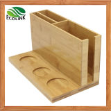 Bamboo Spice Racks with Tissue Holder