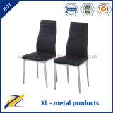 China Wholesale Modern Furniture PVC Metal Dining Chair