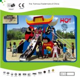 Kaiqi Small Sized Cartoon Themed Children′s Playground Slide Set (KQ21048A)