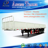 Tri-Axle Heavy Duty Curtain Side Semi Truck Trailer (LAT9400)