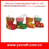 Christmas Decoration (ZY14Y186-1-2-3-4) Souvenir Use Christmas Gift