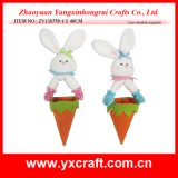 Easter Decoration (ZY13S770-1-2 40CM) Easter Hanging Rabbit Carrot Egg Bag