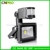 Outdoor Waterproof Wireless 10W PIR Motion Sensor LED Floodlights