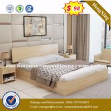 Comfortable Design American Style Wooden Bedroom Bed (HX-8NR0679)