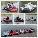 PVC Pontoon Kayak Inflatable Rigid Aluminum Motor Fishing Rubber Boat