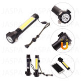 COB LED Multi-Function Safety Hammer Flashlight with Power Bank (61-1S1702 COB)