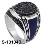 Arabic Jewelry Design Micro Silver Ring for Man