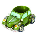 Creative Vintage Small Car Resin Flower Pots Personalized Home Decoration