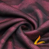 Knitted Polyester Spandex Lycra Elastic Fabric for Sportswear Fitness (LTT-Y7002H#)