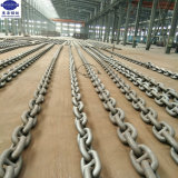 High Tensile 78mm Offshore Mooring Stud Link Marine Ship Anchor Chain for Sale