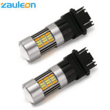 Switchback LED Car Lamp 3157 Dual Color White/Amber for DRL Parking Light Turn Signal Light