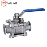 2PC Female Threaded Stainless Steel Floating Ball Valve Manufacturer