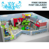 Commercial Size Hot Sale Kids Indoor Playground Ground Equipment