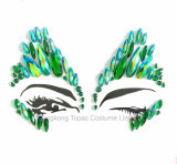 New Acrylic Sticker Mirror Diamond Face Tattoo Imitation Gem Waterproof Eye Stickers (S081)