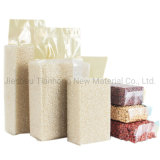 Meat & Rice Packaging Nylon Vacuum Stand-up Pouch Plastic Rice Bag