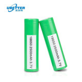 Bis Approved Battery Cell 2400mAh 2500mAh 3.7V Cheap India 18650 Battery