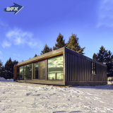 Luxury Modular Living New Model Villas Portable Shipping Prefabricated Mobile Wooden Container Dorm House with Mobile Toilet