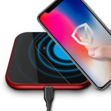 Desktop Home and Office Use Smart Wireless Qi Enabled Wireless Mobile Charger Supporting 10W, 5W, 7.5W