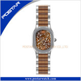 Multicolor Fashion Stainless Steel Watch Quartz Watch in IP Brown Plating