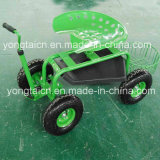 Rolling Garden Deluxe Tractor Scoot for Gardeners
