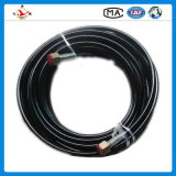 "China Flexible R1 1-1/2""38mm Wire Braided Hydraulic Rubber Hose"