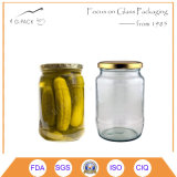 Hot Sale Cucumber Canning Jars with Lids