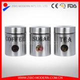 Glass Canning Jars for Canning Wholesale with Stainless Steel Design