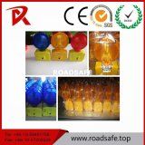 Roadsafe Ce Blinking LED Solar Warning Barricade Lights/Barricading Lamps