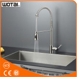 China Wholesale Spring Pull out Kitchen Sink Faucet