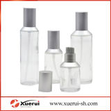 Cosmetic Packaging, Transparent Glass Lotion Bottle with Pump