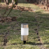 Stainless Steel Solar Garden Stake Lamp (RS035B)