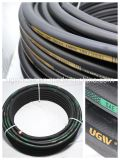 Hot Sale Steel Wire Braided Flexible High Pressure Rubber Hydraulic Hose with Hose Assembly R2