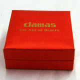 Luxury Custom Jewelry Packaging Hinged Rigid Box (AM-00053)