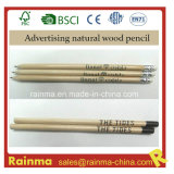 Natural Wood Hb Pencil for Hotel Advertising Gift