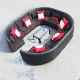 Circular Outdoor Sofa Garden Sofa Wicker Furniture Rattan Sofa Outdoor Furniture S215