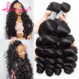 Loose Wave Hair Natural Hair Extensions, Virgin Mongolian Loose Wave